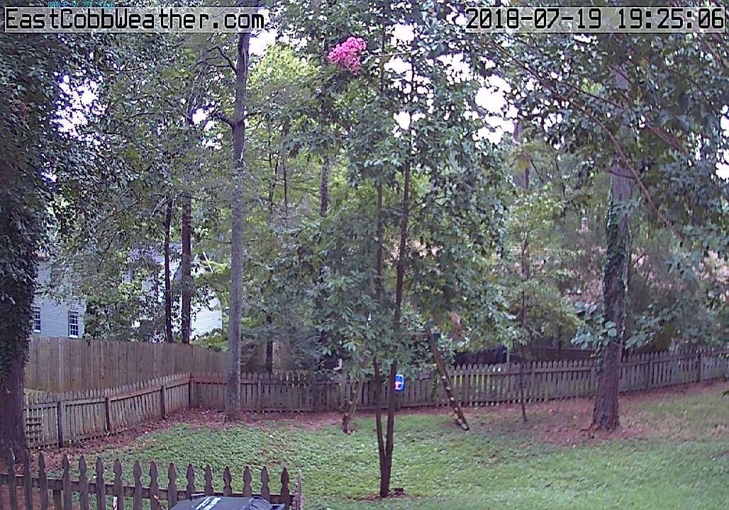 Live Weather Web Cam East Cobb County outside Atlanta, Georgia